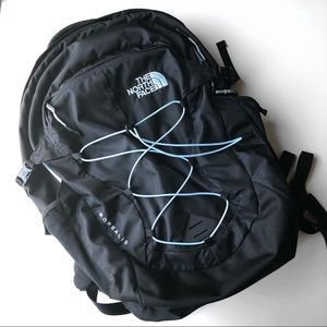 Northface Borealis Backpack in Grey & Mint